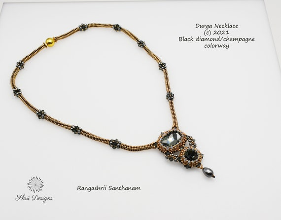 Durga Necklace and Earrings Supplies Kit
