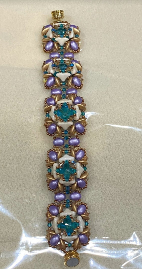 Evangeline Bracelet Tutorial