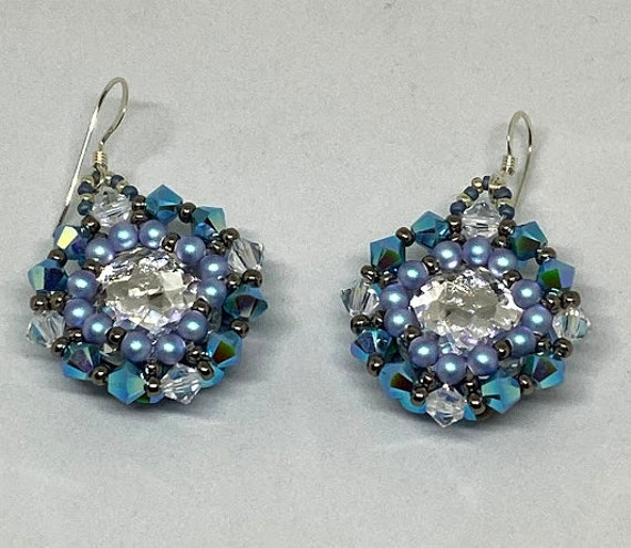Winter Ball Earrings Tutorial