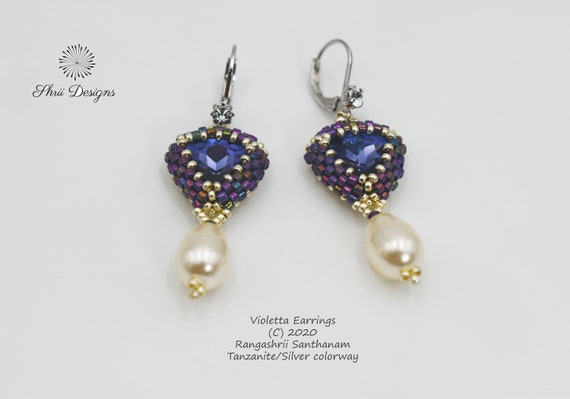 Violetta Earrings Tutorial