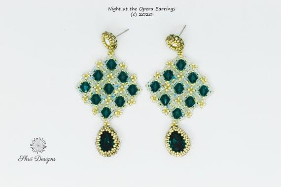 Night at the Opera Earrings Kit