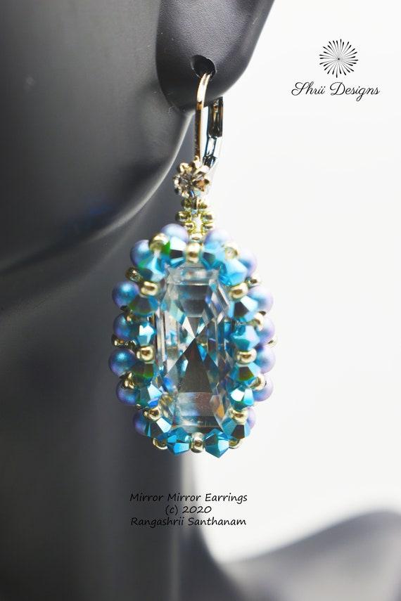 Mirror Mirror Earrings Supplies Kit