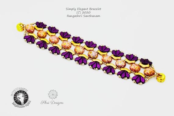 Simply Elegant Bracelet Tutorial