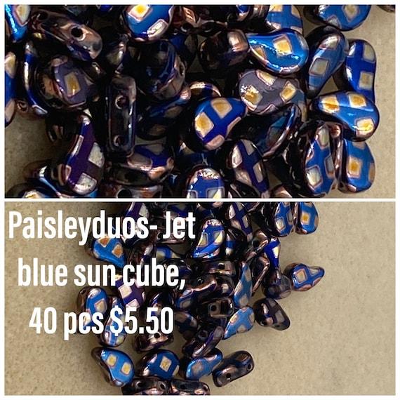Batik Paisleyduos 40pcs pack