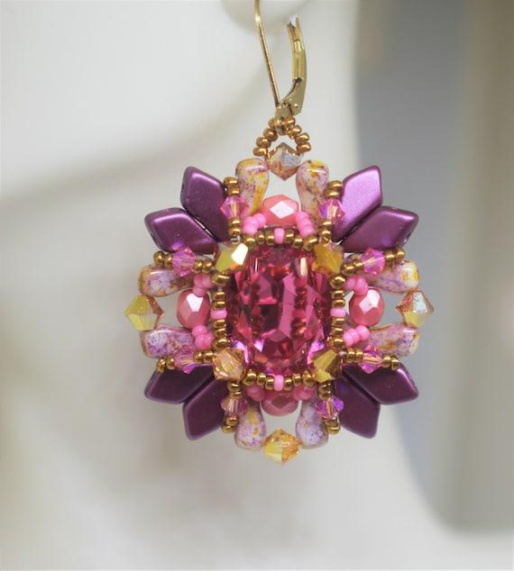 Rosita Earrings and Bracelet tutorial
