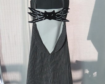 Jack Skellington Inspired Apron- The Nightmare Before Christmas Cooking / Family