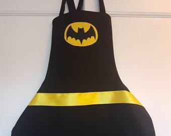Batman Apron-Kids and Adult Sizes Family