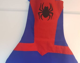 Spiderman Apron-kids and Adult Sizes