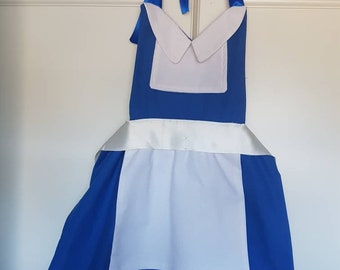 Cooking and Dress Up Apron inspired by Disney Beauty and the Beast Family Aprons