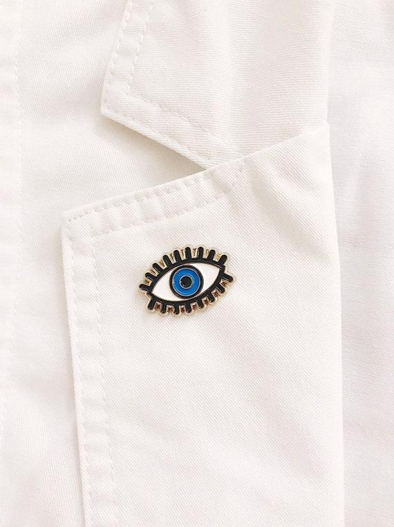 Love Eye Enamel Pin