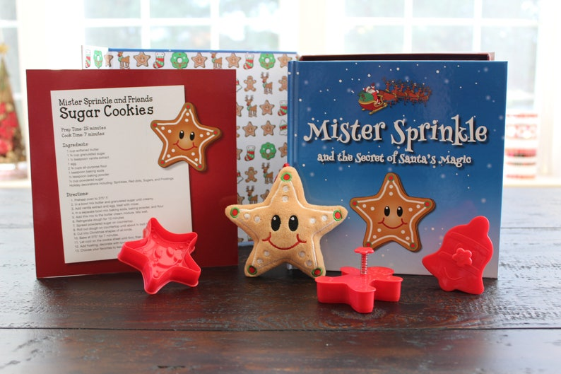 Mister Sprinkle Christmas Cookie Gift Set image 0