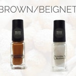 Two if by Scent Collection Brown/Beignet Scented Nail Polish