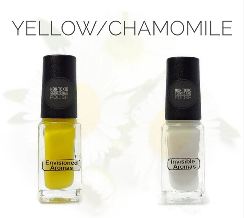 Two if by Scent Collection Yellow/Chamomile Scented Nail | Etsy
