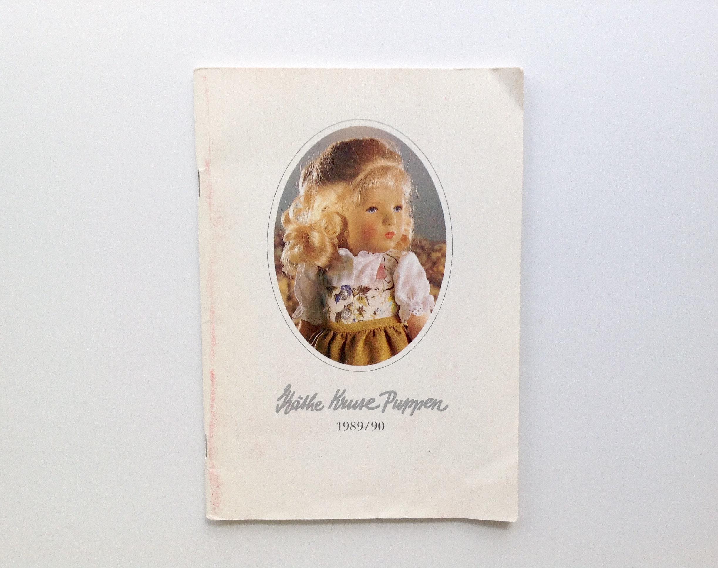 Käthe Kruse Puppen Katalog 1987 1988