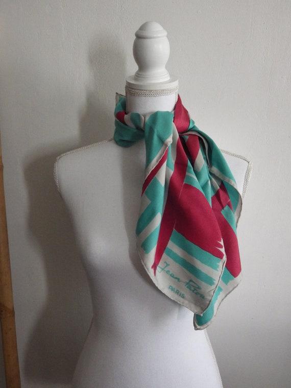 Jean Patou silk scarf
