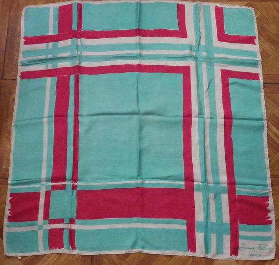 Jean Patou silk scarf - image 2