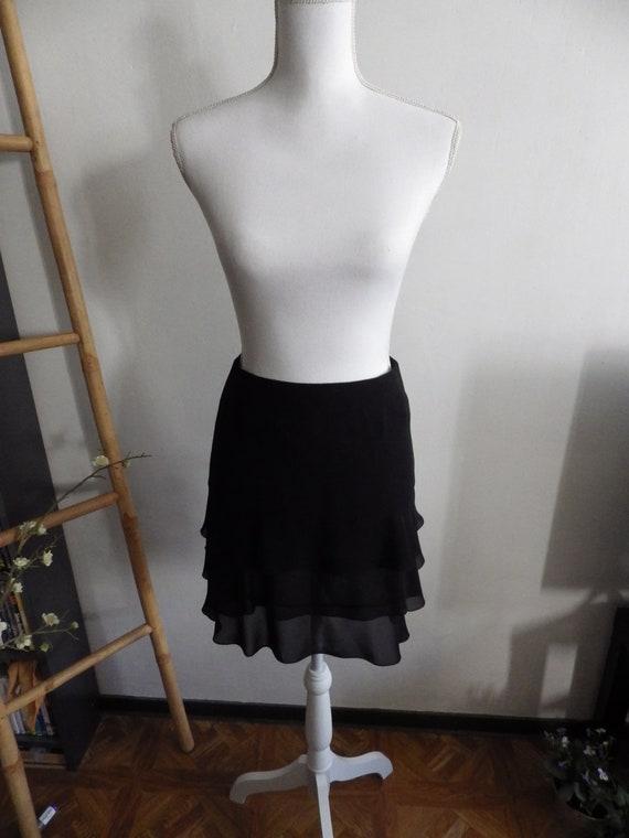 Chanel vintage skirt short black skirt circa 2001