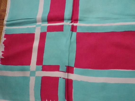 Jean Patou silk scarf - image 3