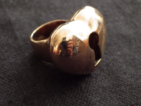 Vintage Dior/ Dior ring ring