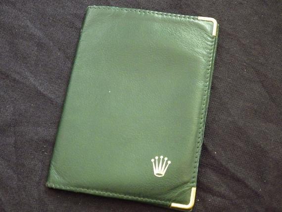 ROLEX vintage/ Vintage ROLEX Card holder