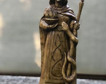 Brigid, the statue of Brigid,Goddess, heathen goddess