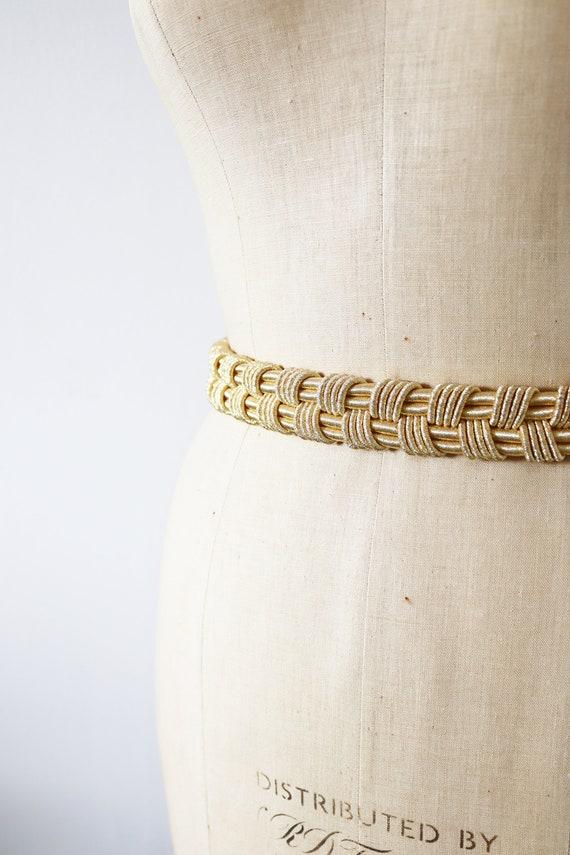 Vintage gold Moroccan belt