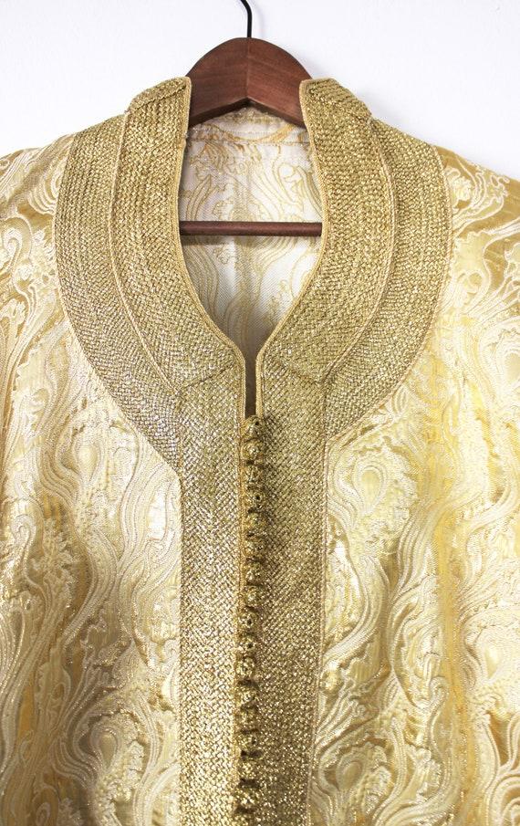 Vintage gold kaftan (moroccan)