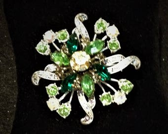 Brilliant Spring Green Brooch