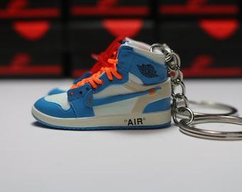 a385f2f39c8510 Handmade 3D Sneaker Keychains AJ1