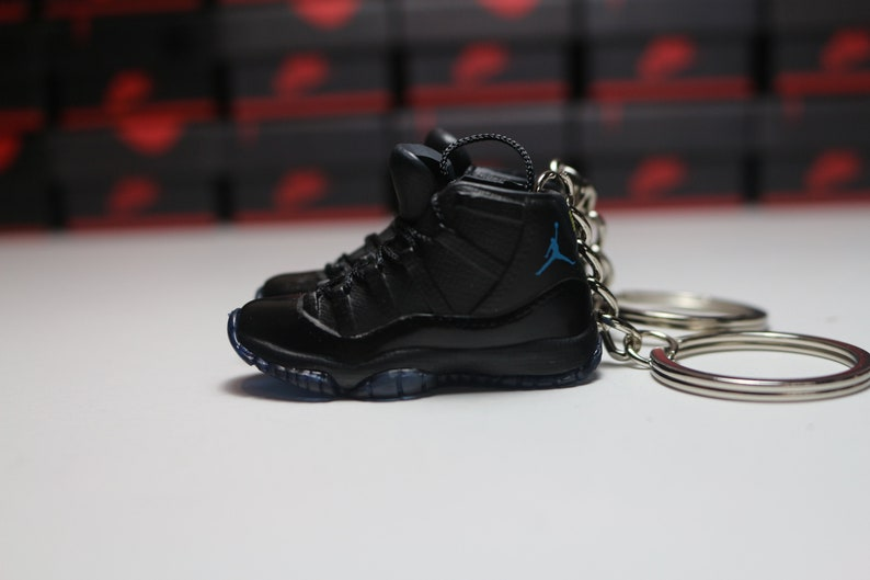 sneakers for cheap 02c30 16538 Handmade 3D Sneaker Keychains AJ 11