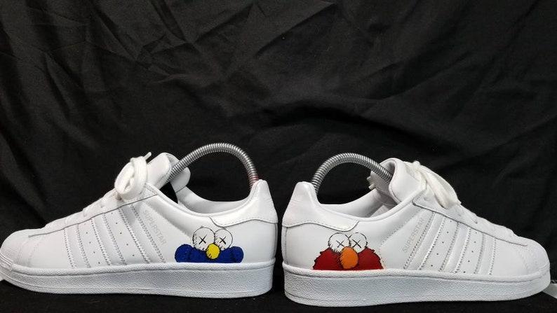 Adidas Supterstar X KAWS unilqo Custom shoes  d7847ce97
