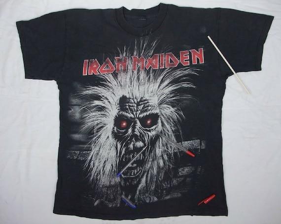 Iron Maiden Iron Maiden album Prowler 80s 90s rare