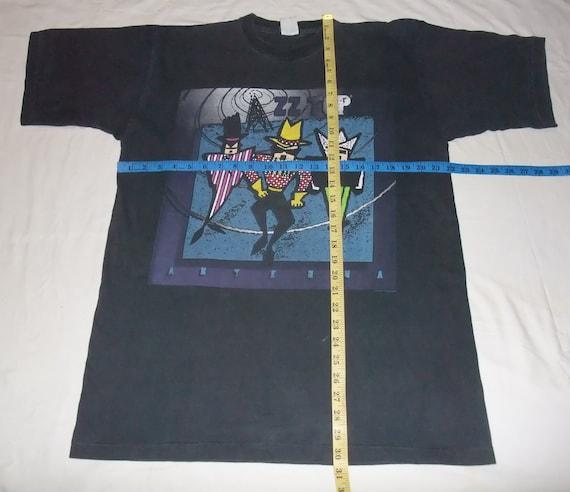 vintage t-shirt ZZ TOP Antenna World Tour  XL  The