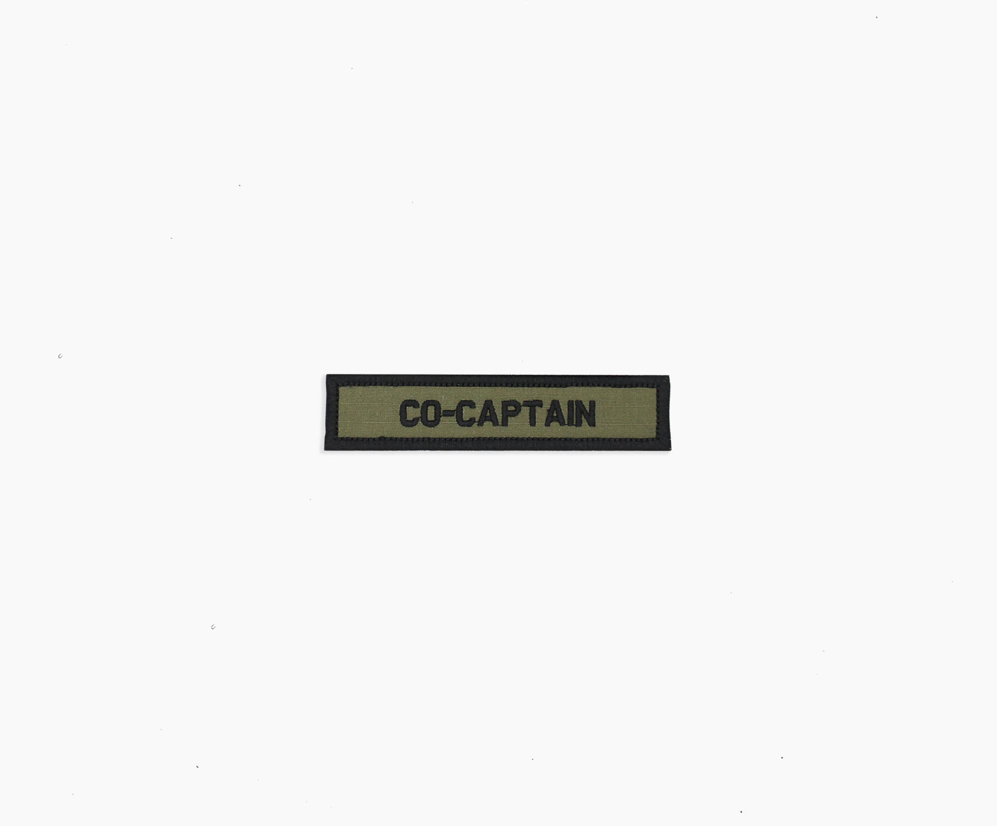 OD GREEN Name Tape Embroidered patch: sew on or Hook fastener