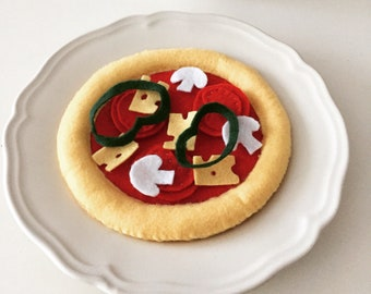 Felt - Pizza collectible