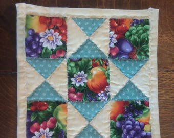 Quilted Pot Holder