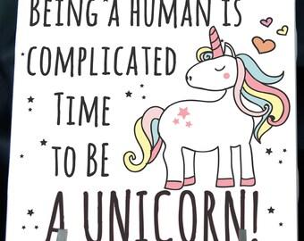 Time to Be a Unicorn Coaster