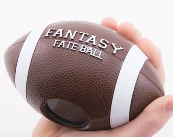 Fantasy Football magic eight-ball. The perfect gift for your Fantasy Football fanatic.