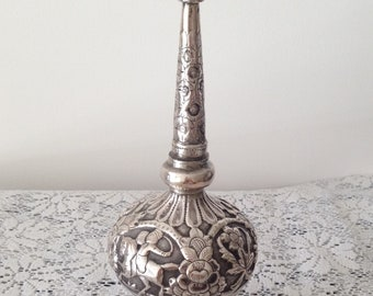 Rare Antique Collectible Glass Antique Islamic Rose Water Sprinkler Decorative Arts I31-35 Au Other Antique Decorative Arts