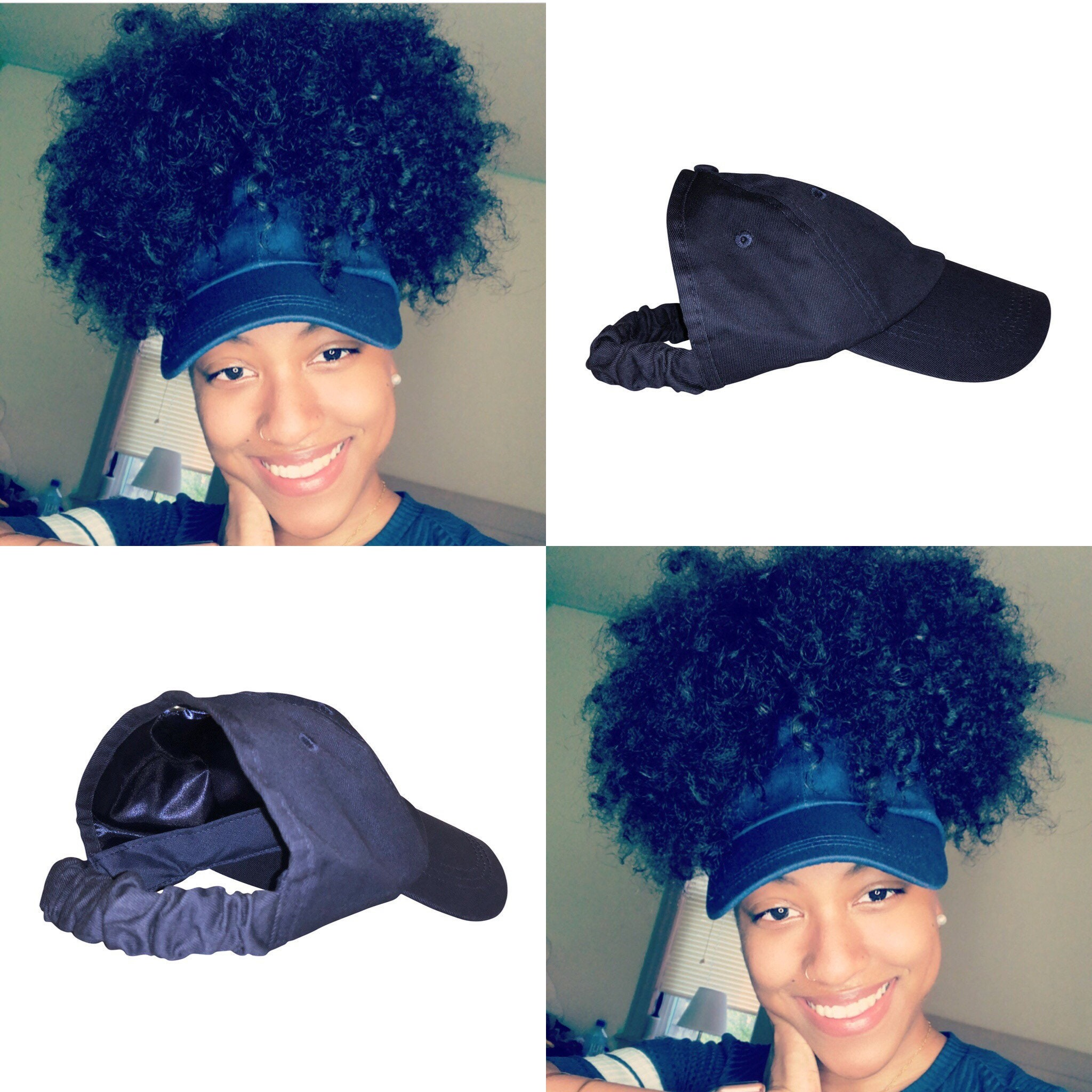 Natural Hair Hats 50ef3e47cd56