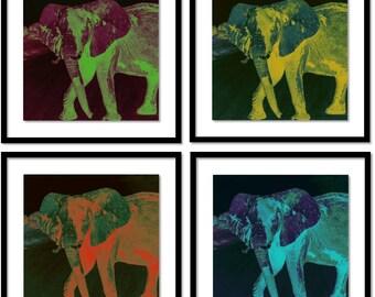 Rangi - Elephant Art Print