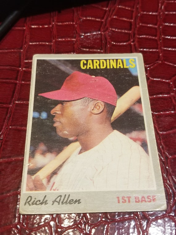 1970 Topps 40 Baseball Card Richard Anthony Allencombined Shipping