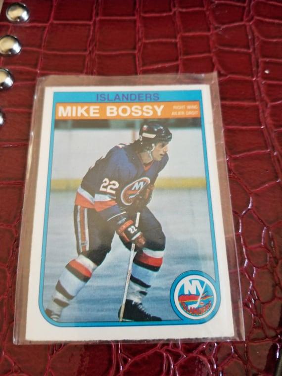 Vintage OPC 1982 Hockey Card MIKE BOSSY 199
