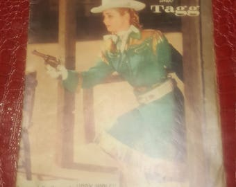 1957  Annie Oakley And Tagg  comics book #13 1957  VG-