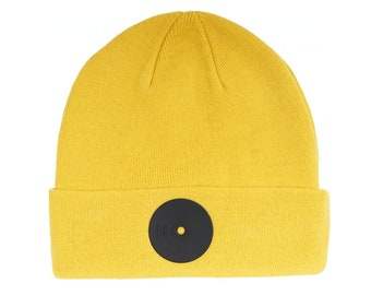 b4cca99906e Mr. Serious Yellow Super Fat Beanie