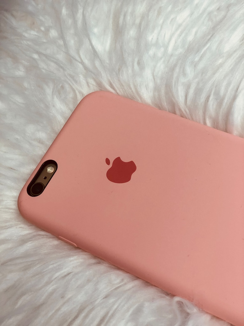 brand new f04cf 93e43 Light Pink iPhone X Case Available in: 6/6s/8/6+/6s+/8+/x/xs/xr/xs max  Silicon Case