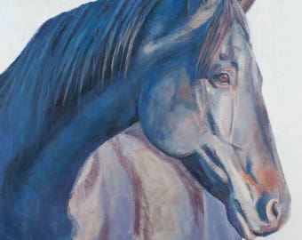 Horse Art, Horse Painting, painting, equine art, horses,