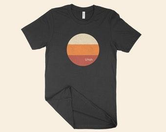 Utah state geometric minimalist t-shirt