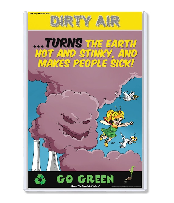 Environmental Posters Dirty Air Air Pollution Smog | Etsy