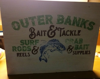 Outer banks/ fish